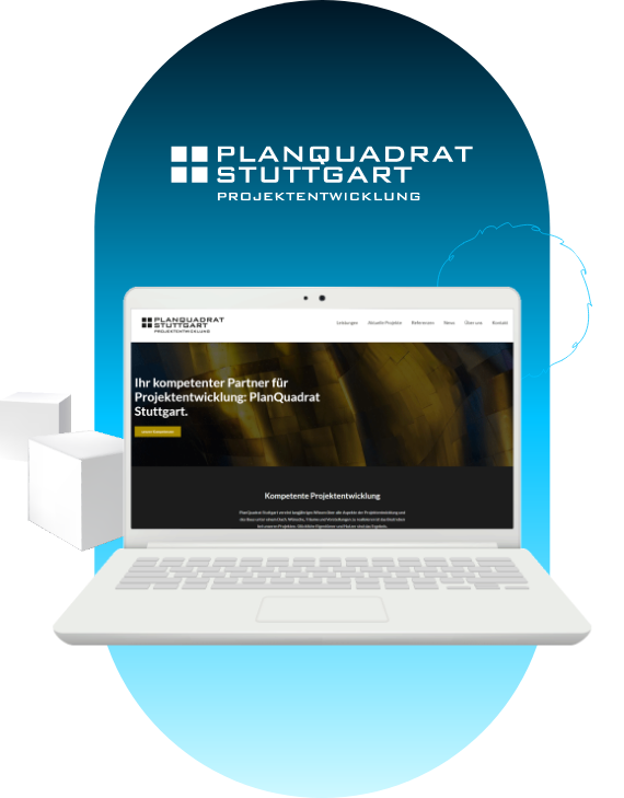 Projekt Planquadrat Stuttgart von MARCIS B2B-Agentur für digitales Marketing